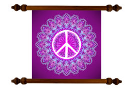 Tablou TANKA Peace #1