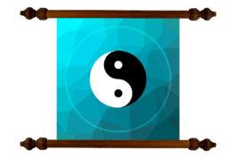Tablou TANKA YinYang Pentru Echilibrare si Atragerea Norocului #13