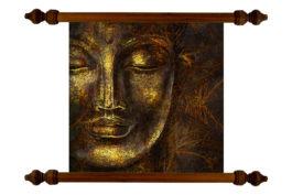 Tablou TANKA Meditating Buddha