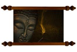 Tablou TANKA Teaching Buddha