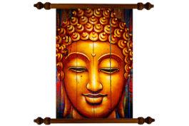 Tablou TANKA Happy Buddha