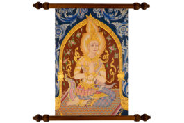 Tablou TANKA Hummble Buddha
