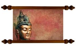 Tablou TANKA Buddha Statue