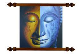 Tablou TANKA Duality Buddha