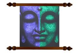 Tablou TANKA Dual Buddha