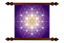 Tablou TANKA Flower of Life Star