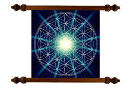 Tablou TANKA Flower of Life Growth