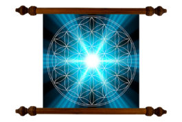 Tablou TANKA Flower of Life Light