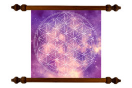 Tablou TANKA Flower of Life Universe