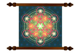 Tablou TANKA Flower of Life Arkangel