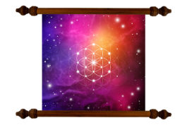 Tablou TANKA Flower of Life Stars
