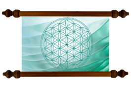 Tablou TANKA Flower of Life Waves