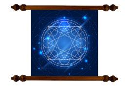 Tablou TANKA Geometry Blue Star