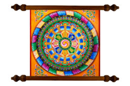 Tablou TANKA Mandala Male Energy