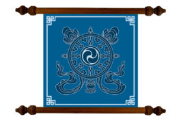 Tablou TANKA Mandala Money Attraction