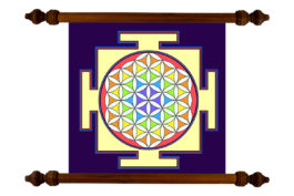 Tablou TANKA Mandala Purification
